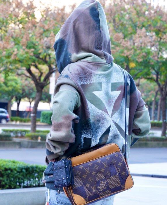 Louis Vuitton LV N40359 NIL MESS PM D.G. WAVE MNG 肩背包