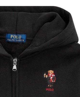 Ralph Lauren POLO 車繍polo熊 青年款 連帽外套 現貨