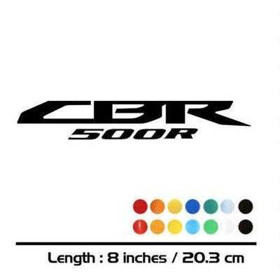改裝 適用于 本田 CBR500R 改裝車貼 500R標志貼 反光貼花 3M貼紙@cv09719