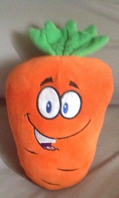 全新紅蘿蔔葫蘿蔔娃娃也可當午安枕