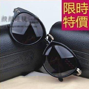 太陽眼鏡潮流日系-時髦隨意自信防紫外線男女墨鏡4色55s34[獨家進口][米蘭精品]