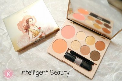Cute Press 美女與野獸 胭脂眼影組合 Beauty and The Beast Beauty Palette $80