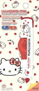Hello Kitty PLUS 普樂士 MR修正帶 立可帶 台灣限定版 凱蒂貓 Sanrio 三麗鷗 吉蒂貓 正版授權