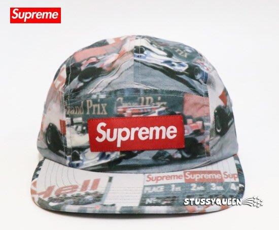 【超搶手】全新正品 2019 Supreme Grand Prix Camp Cap Box 賽車 帽挺 五分割帽