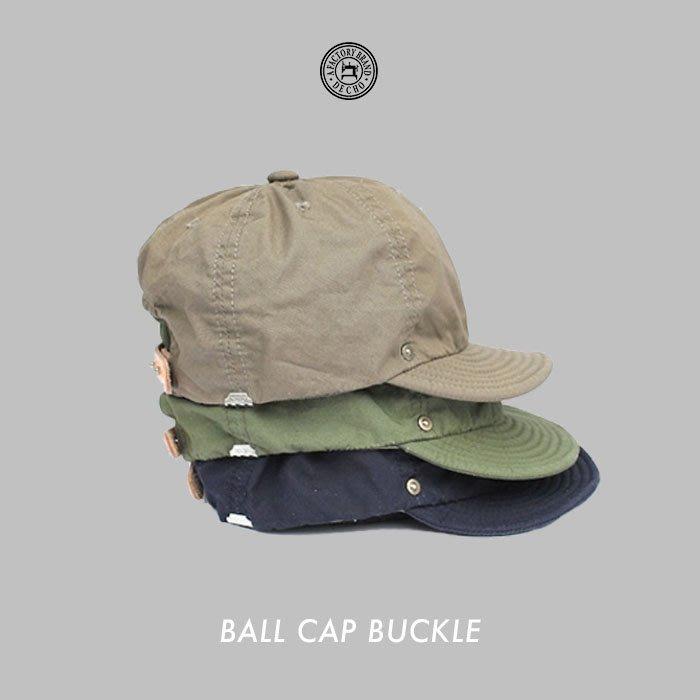 WaShiDa【D-11】DECHO 日本品牌 日本製 BALL CAP BUCKLE 短帽簷 球帽 - 預訂