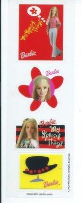 童玩-早期日本製造Barbie貼紙1
