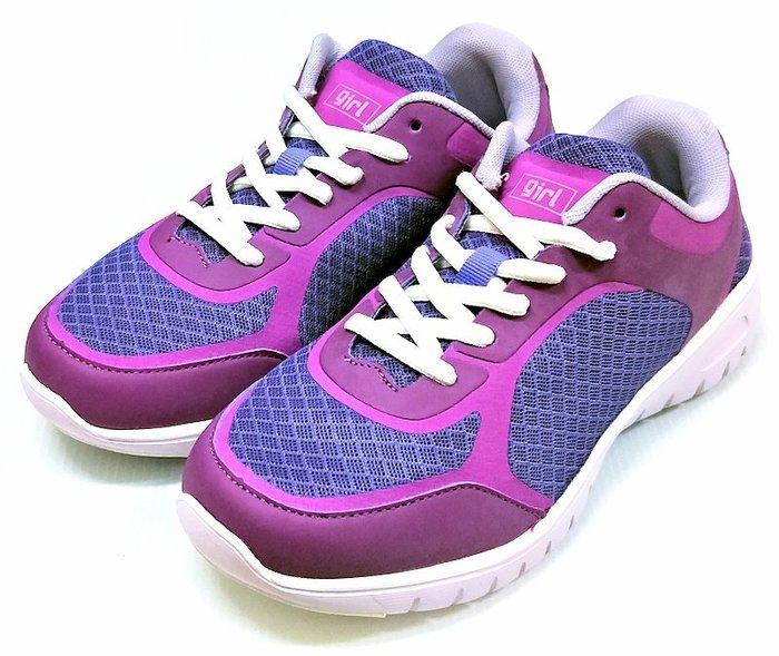 【菲瑪】TOP GIRL 輕量透氣 運動鞋 紫色1512255390