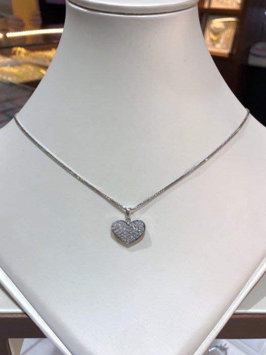 28分鑽石愛心墜飾,超值優惠價13800,閃亮簡單款式適合平時配戴,超值優惠價13800