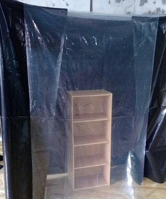 雙色 防塵套 鍍鉻層架 波浪架 置物架 收納架 層架 鐵力士架 貨架 櫥櫃 衣櫃 客製 訂製 訂作 VA