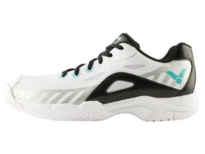◇ 羽球世家◇【鞋】勝利羽球鞋 A610 PLUS AC/白黑 A610 勝利 VICTOR 全面羽球鞋
