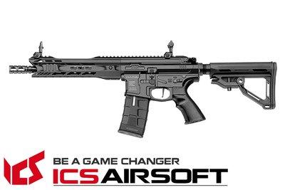 【翔準軍品AOG】ICS CXP-MARS SBR MTR Stock(黑) EBB Keymod 全金屬 生存遊戲 I