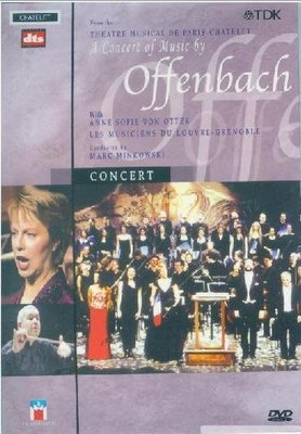 音樂居士#A Concert of Music by Offenbach 奧芬巴赫音樂會 DVD