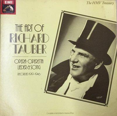 {夏荷美學生活小舖} Richard-Tauber-The Art Of Recorded 1919-1946-3LP
