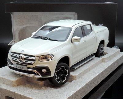 【M.A.S.H】現貨特價 原廠 Norev 1/18 Mercedes-Benz X-Class white