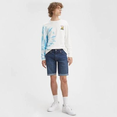 【深藍29-44腰優惠】美國LEVI S 511 SLIM CUT-OFF SHORTS RIND DARK窄管牛仔短褲