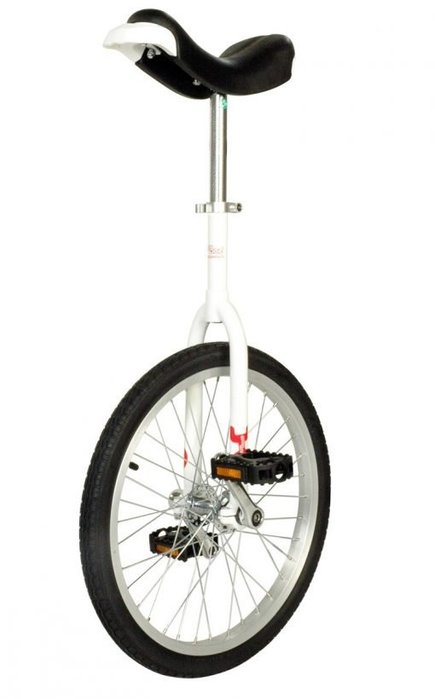 OnlyOne unicycle 406 mm (20″) Indoor white