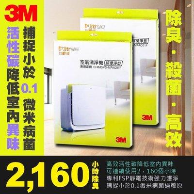 正原廠 2片好康組 3M 超優淨 空氣清淨機 濾網 MFAC-01F 抗過敏 (除溼機 空汙 PM2.5 N95)