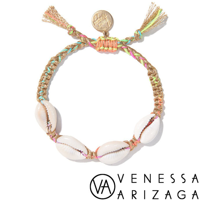 Venessa Arizaga FANTASEA BRACELET (GOLD RAINBOW) 彩色手鍊