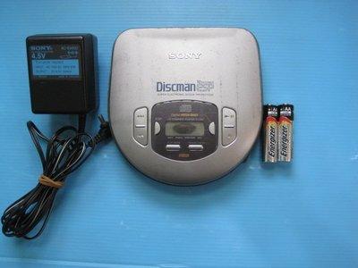 SONY Discman ESP D-365 CD 隨身聽附電源耳機 銀幕有黑屏但不影響操作 音質重低音超好 機況良好