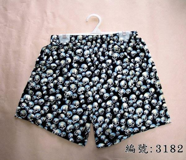 短褲台灣製紅螞蟻平口褲100%絲光棉編號3182、3187