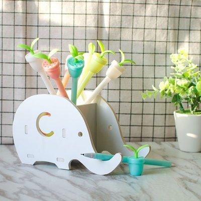 【贈品禮品】A3503 香香豆盆栽筆/棒棒糖水性原子筆/可愛創意造型筆/圓珠筆/學生兒童文具筆記獎勵/繪圖工具/鉛筆盒袋