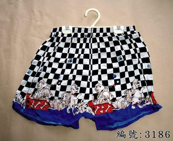 短褲台灣製紅螞蟻平口褲100% 高級棉-編號 3184、3186