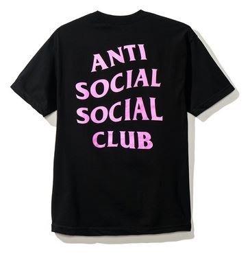 【日貨代購CITY】2017AW Anti Social Social Club 短TEE 黑粉 LOGO 文字 現貨