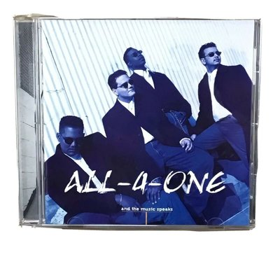 All-4-One - And the Music Speaks CD