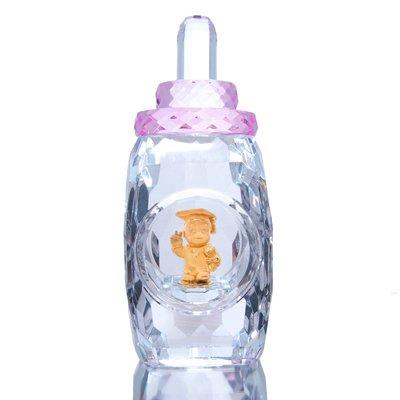 【JHT金宏總珠寶/GIA鑽石專賣】黃金水晶奶瓶/GD0029-3892