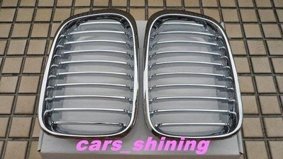 cars_shining 全新 BMW E46 鼻頭 全電鍍 318 320 328 330 1998-2002 精品