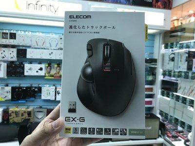 禾豐音響 公司貨保固1年 ELECOM 無線拇指軌跡球滑鼠  M-XT2DRBK