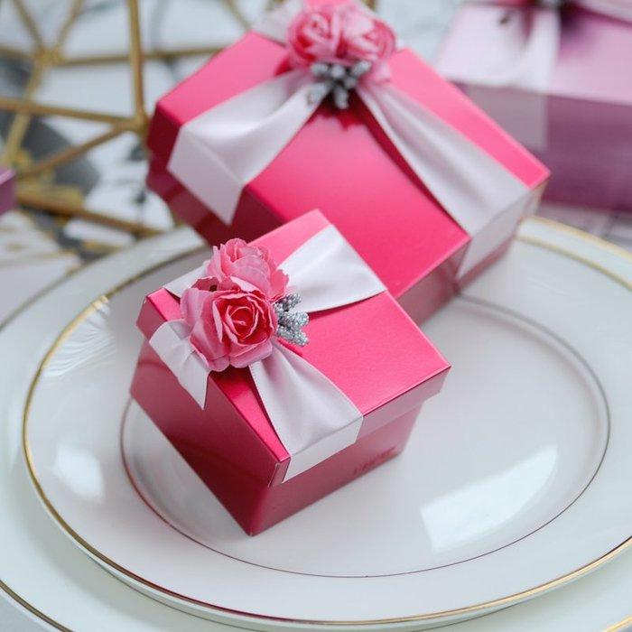 衣萊時尚-熱賣款  喜糖盒馬口鐵盒子歐式結婚 婚慶用品創意個性大號T-29
