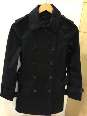COACH  黑色風衣外套