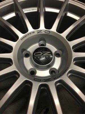 全新正義大利製OZ LM 18吋鋁圈組(5H112) 適用VW AUDI SKODA BENZ MINI車係