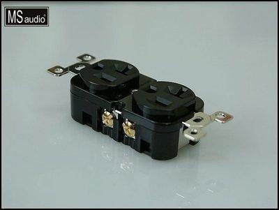 新竹 竹北音響店【名展音響】MS audio 高階Hi-End音響級.液態氮超冷處理.頂級鍍銠電源插座