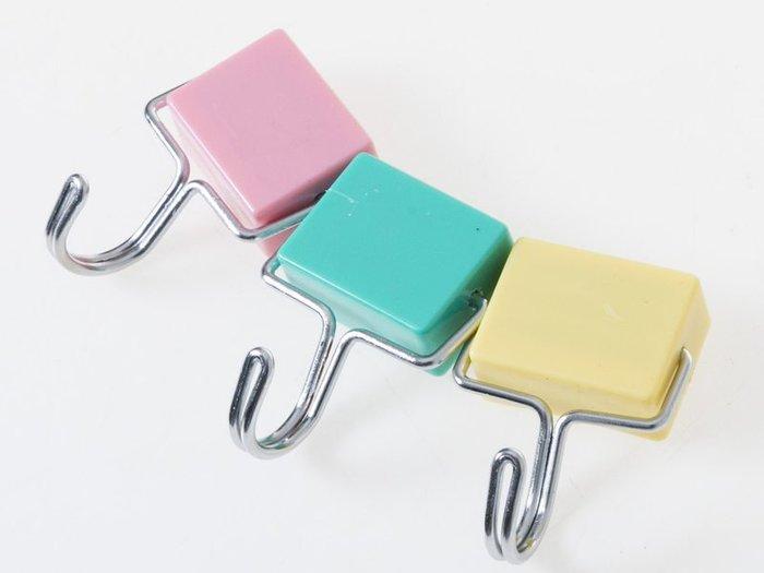 【幸福2次方】多功能強力磁鐵掛勾 多功能無痕強力磁鐵 - 長方形 四個裝 - 多色可選