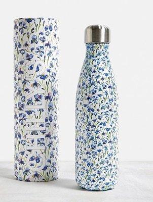 [SECOND LOOK]英國雜貨 Chilly's 小碎花 不鏽鋼 保溫 保冷 易口瓶 水壺 500ML