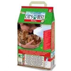 *☆╮艾咪寵物精品╭☆*德國凱優 Cat's Best 凝結木屑砂《紅標》 40L $1200 新北市