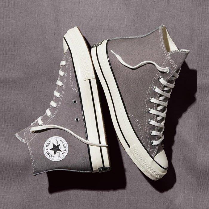 【吉米.tw】CONVERSE 1970s ALL STAR 男女款 情侶鞋 高筒 灰 帆布鞋164946C AUG