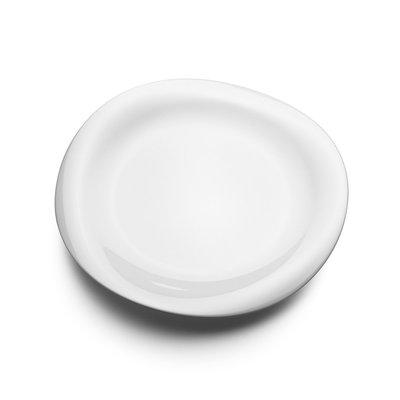 Luxury Life【預購公司貨】丹麥 Georg Jensen 27cm 喬治傑生 婀娜 白瓷流線 晚餐餐盤