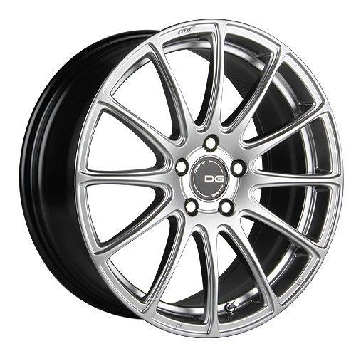 『台灣輪胎王』DG FG03 18吋 旋壓輕量化  鋁圈 全車系適用 高亮銀【配胎套餐大折扣】