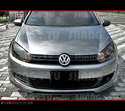 福斯 VW GOLF6 MK6 前下巴 空力套件 TSI