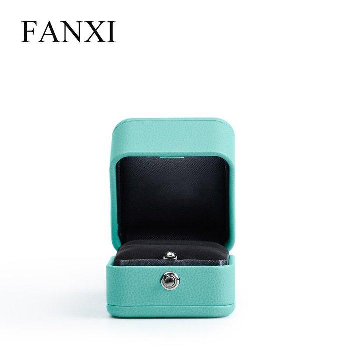 韓國Baby~凡西FANXI婚禮求婚戒指盒創意求婚珠寶首飾鉆戒盒子蒂芙藍