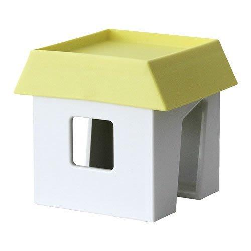 日本製 Apyui小房子造型鍋蓋架。黃色現貨。廚房多用途置物架。。FLOWER&HOUSE。