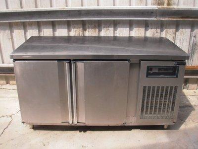 五尺氣冷式為全冷凍工作台冰箱