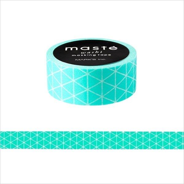 【R的雜貨舖】紙膠帶分裝 MARK'S masté/ Basic 無地 薄荷綠