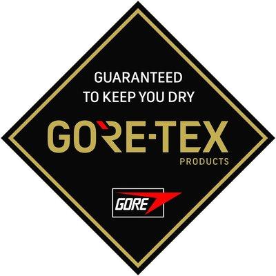 GORE-TEX 黑 LOGO 方形 3M防水貼紙 尺寸88mm