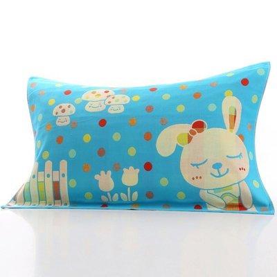 BabyFace【三層紗】柵欄兔款紗布料枕巾枕頭巾花色漂亮可挑 自用送禮可批發(50*75cm)