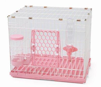 【優比寵物】歐式簡約610-S款(全配件)寵物籠(底盤抽正式)/寵物屋/狗籠/貓籠/兔籠(附自動餵食器/飲水器)〔台製〕
