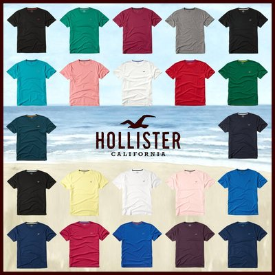 MELEK Clothes 代購正品現貨 【HOLLISTER Co.】【HCO】 HC男款圓領素短T